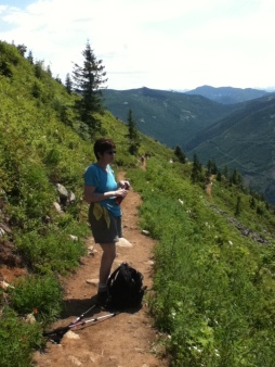 Hiking to Mason Lake 07-24-2011