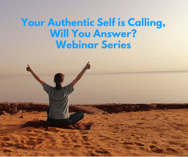 Your Authentic Self Webinar Series - Beach with girl thumbs up